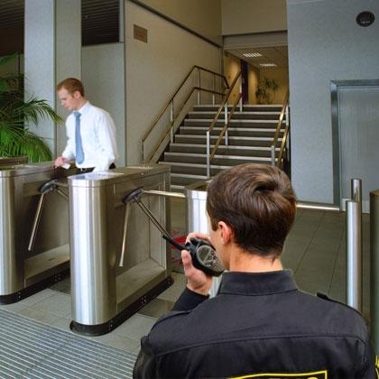 Контроль доступа и охранник